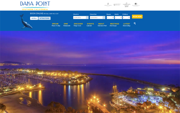 Website Rebuild Complete – Visit Dana Point!