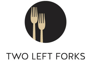 two left forks logo